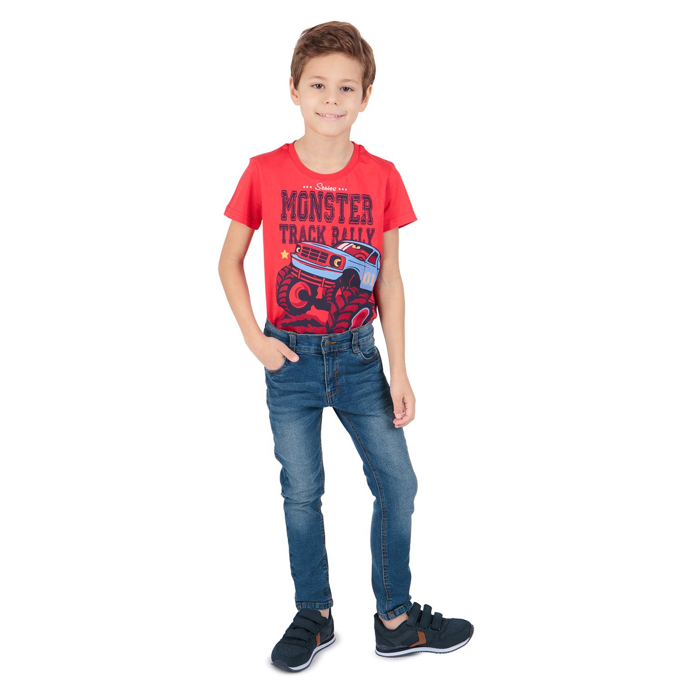 Купить GL001071805, Джинсы Leader Kids синий р.110,