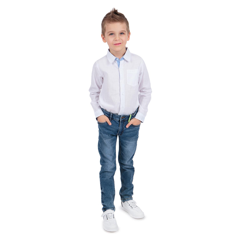 Купить GL001069014, Джинсы Leader Kids синий р.104,