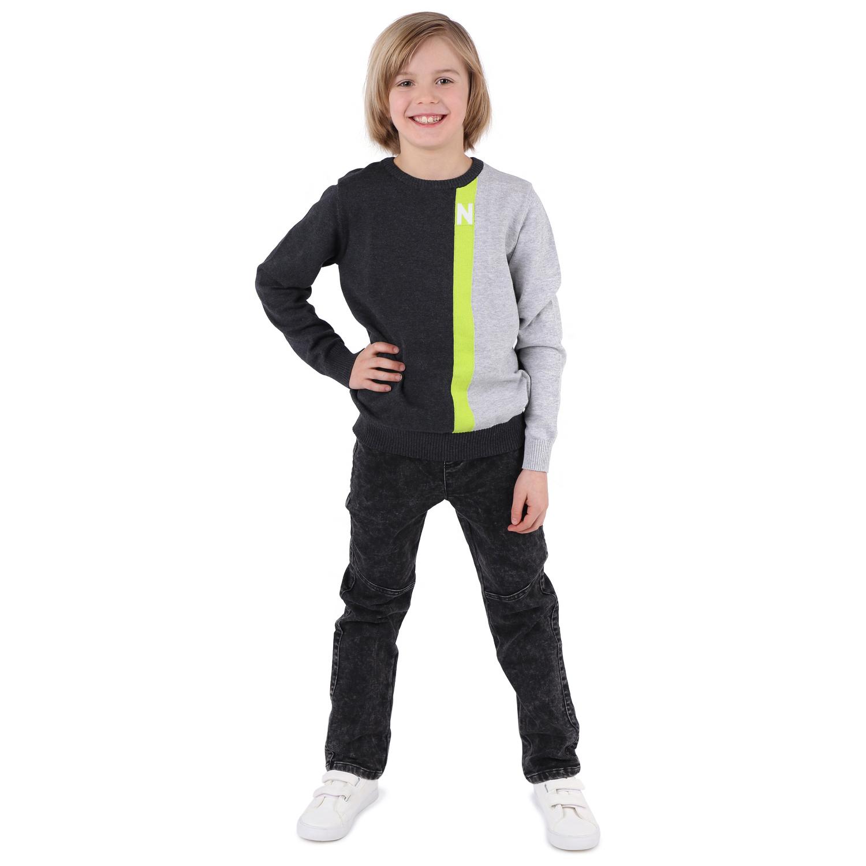 Купить GL001068030, Джинсы Leader Kids серый р.104,