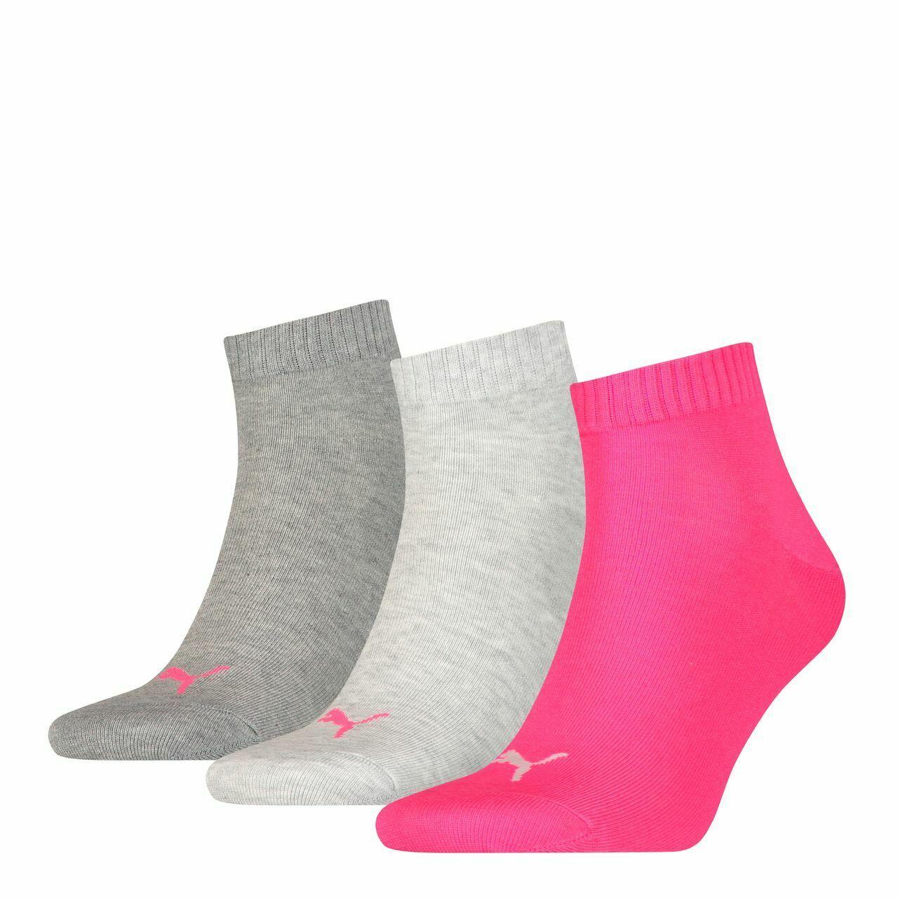 Набор носков женских PUMA 90697806 серых 39-42 RU