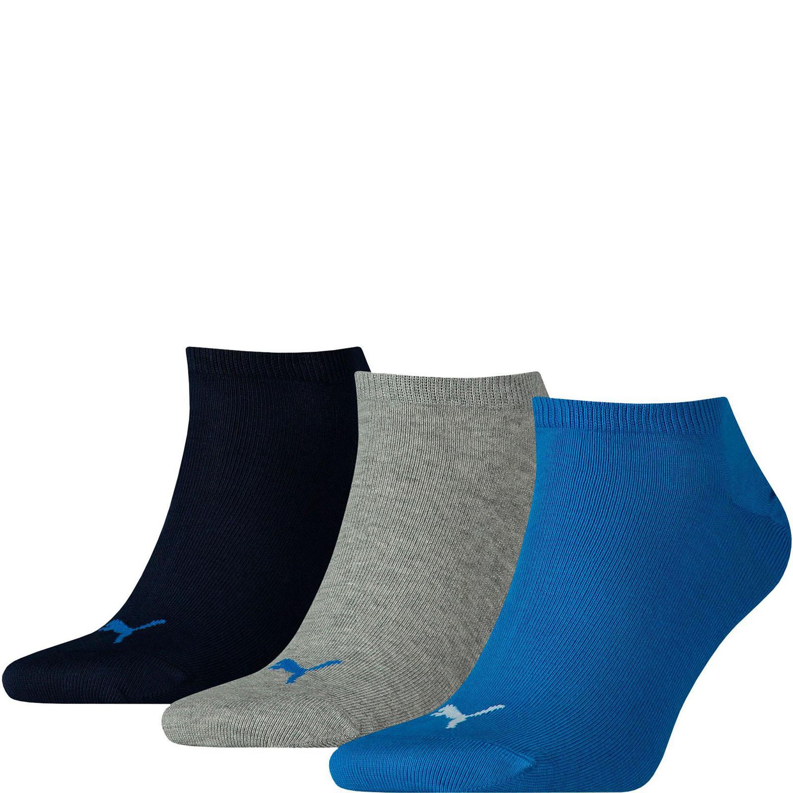 Набор носков женских PUMA 90680719 разноцветных 39-42 RU