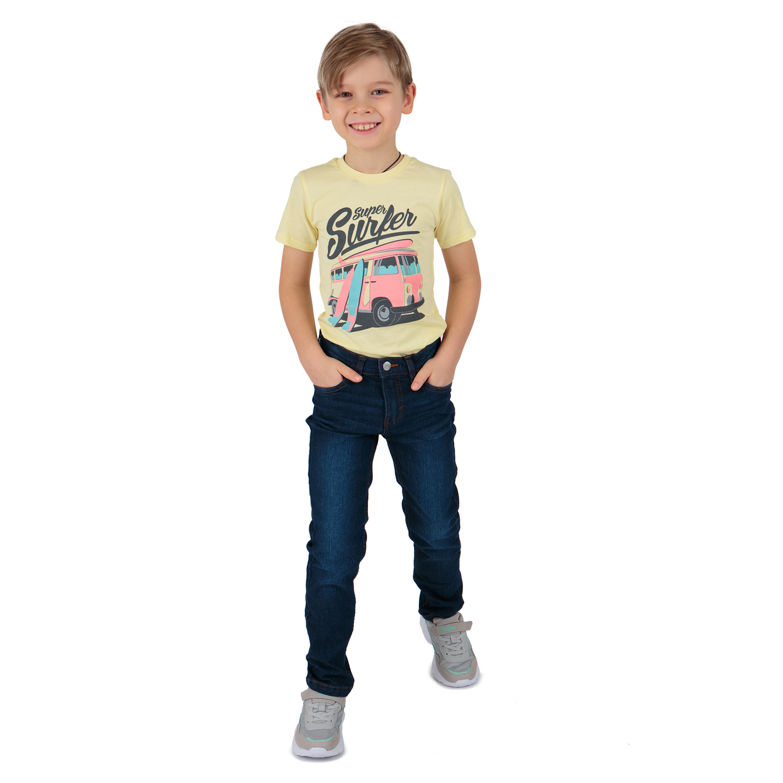 Купить GL001040823, Джинсы Fresh Style синий р.134,