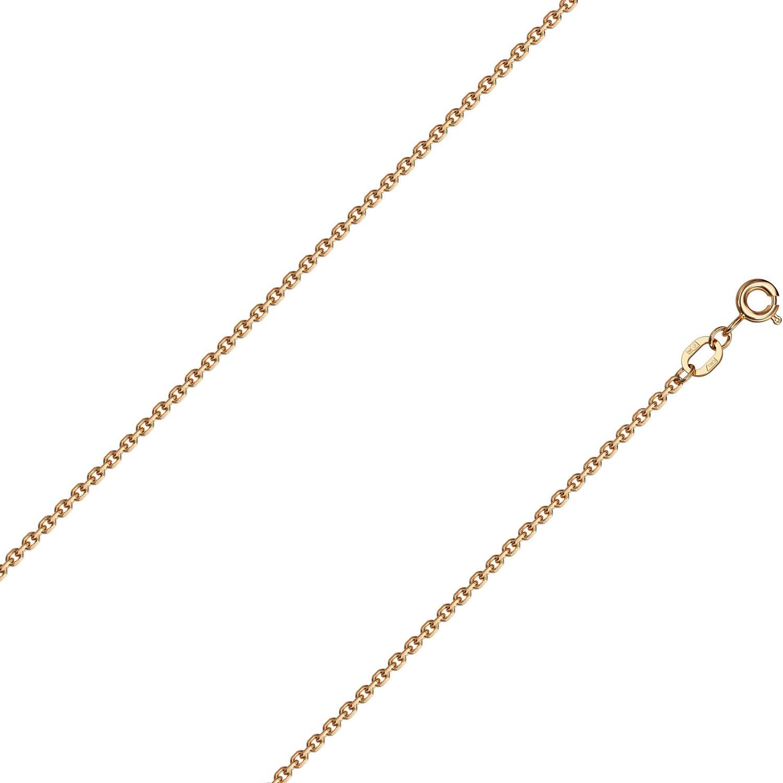 Браслет из красного золота р.18 Красцветмет NB-12-053-0-50