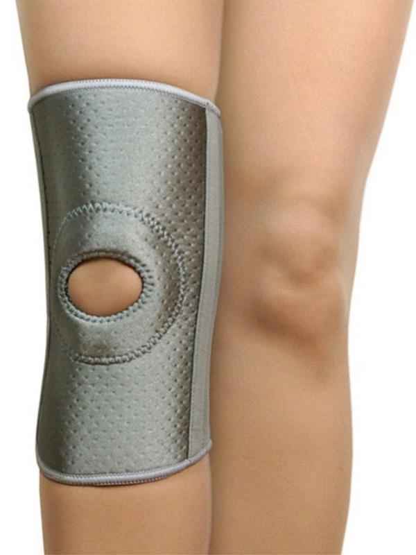 Купить B.Well W-339 / Би Велл - бандаж на коленный сустав, усиленный, L, серый