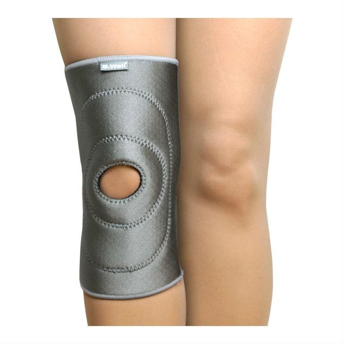Купить B.Well W-338 / Би Велл - бандаж на коленный сустав, L, серый