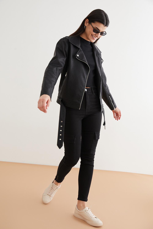 Джинсы женские Concept Club 10200160112 черные XL