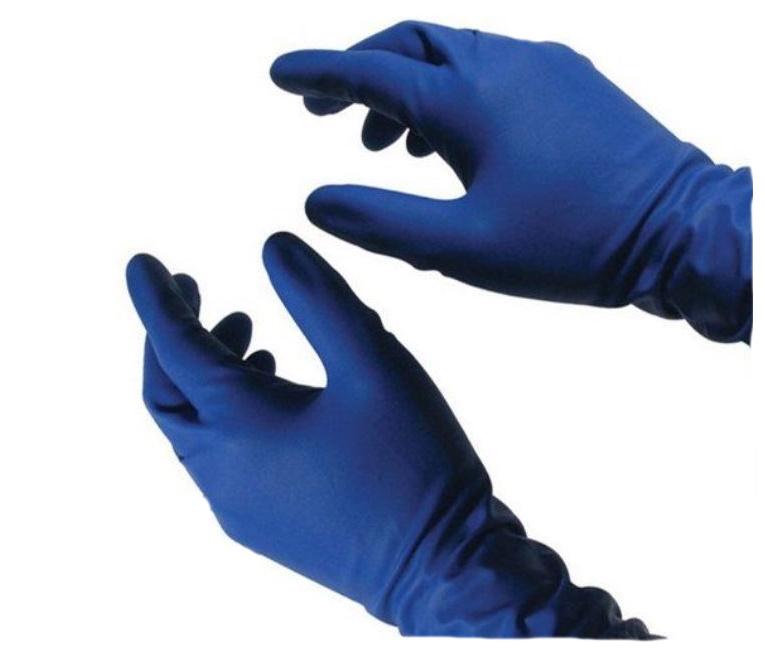 Купить Перчатки латексные нестерильные смотровые р.M №50, Heliomed Handelsges