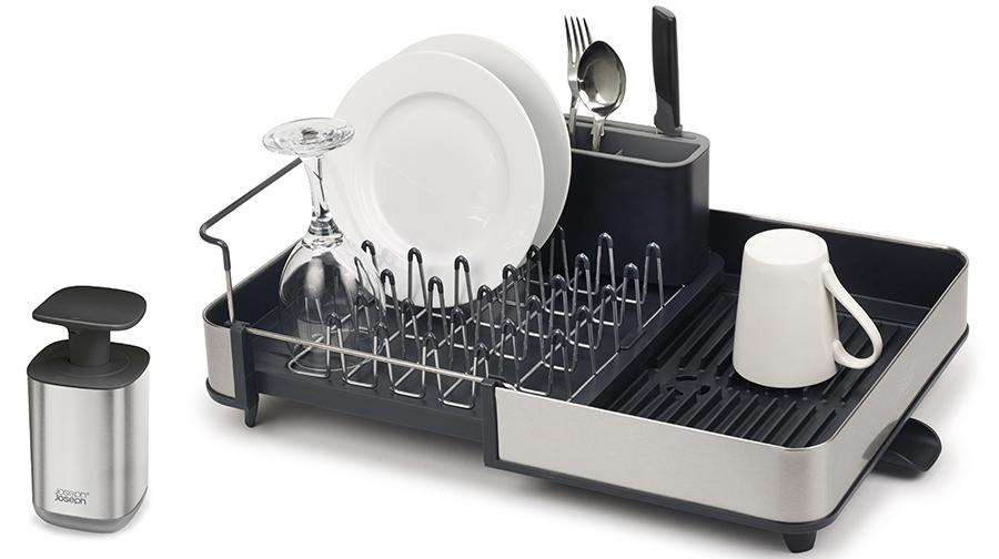 Сушилка для посуды раздвижной Joseph Joseph Extend
