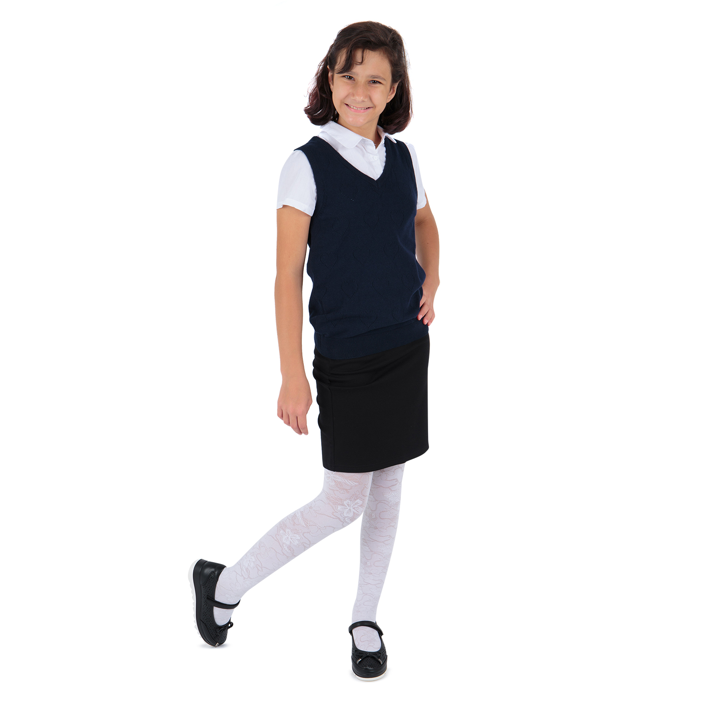 Купить GL001005040, Жилет Leader Kids School School синий р.128,