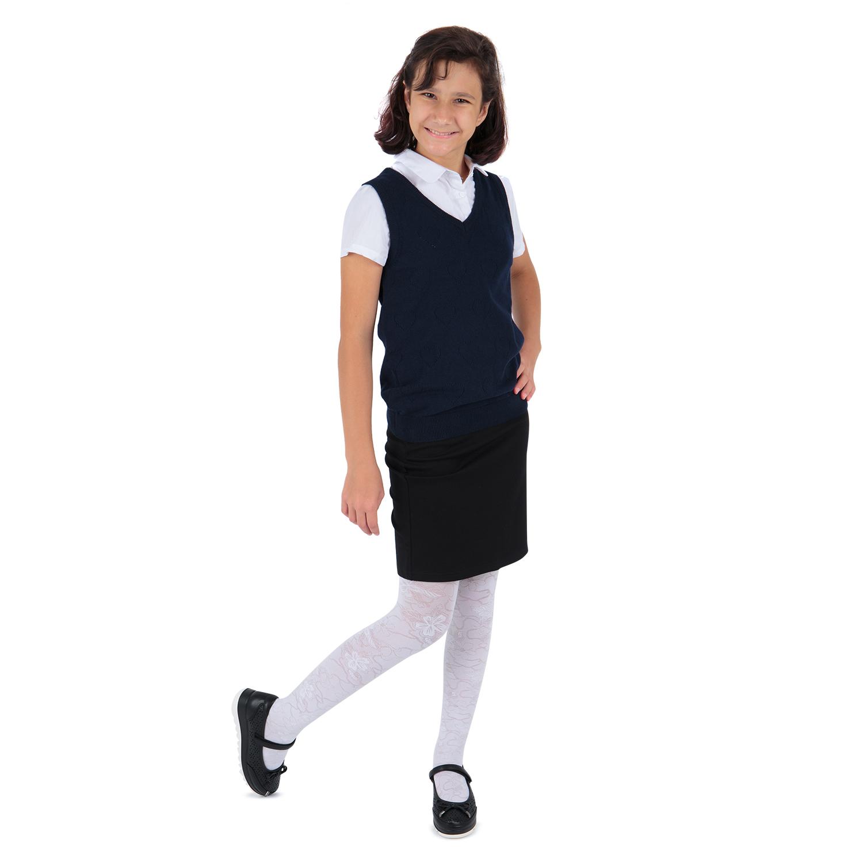Купить GL001005040, Жилет Leader Kids School School синий р.122,