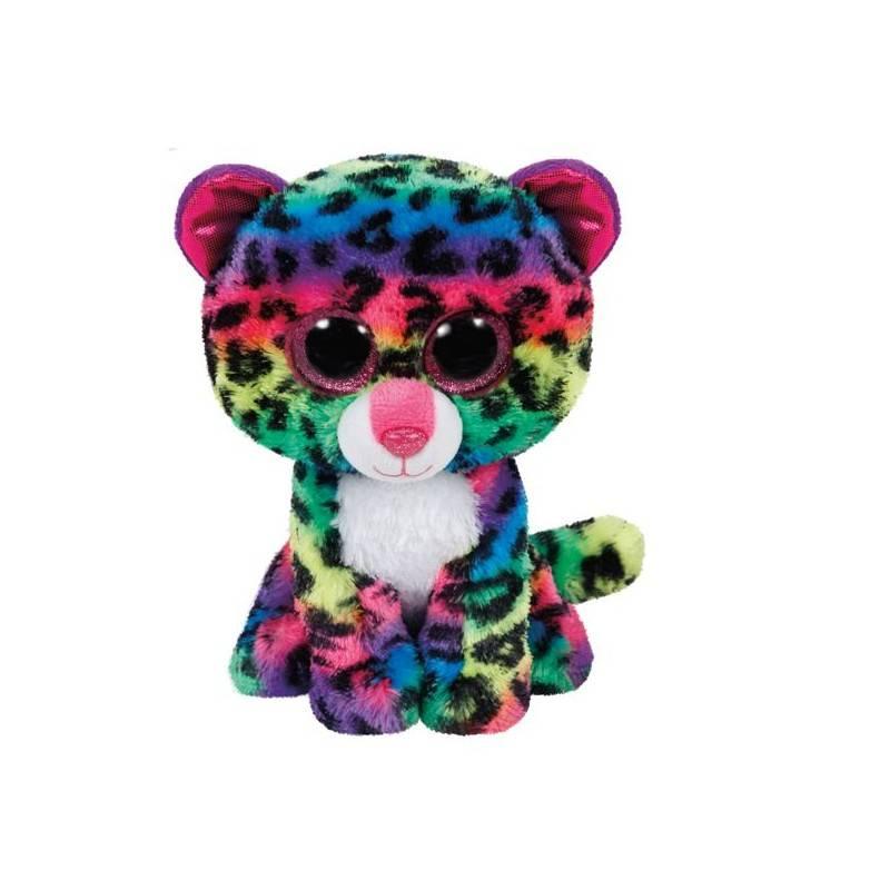 Купить Мягкая игрушка TY Дотти леопард многоцветный 25см 37074,