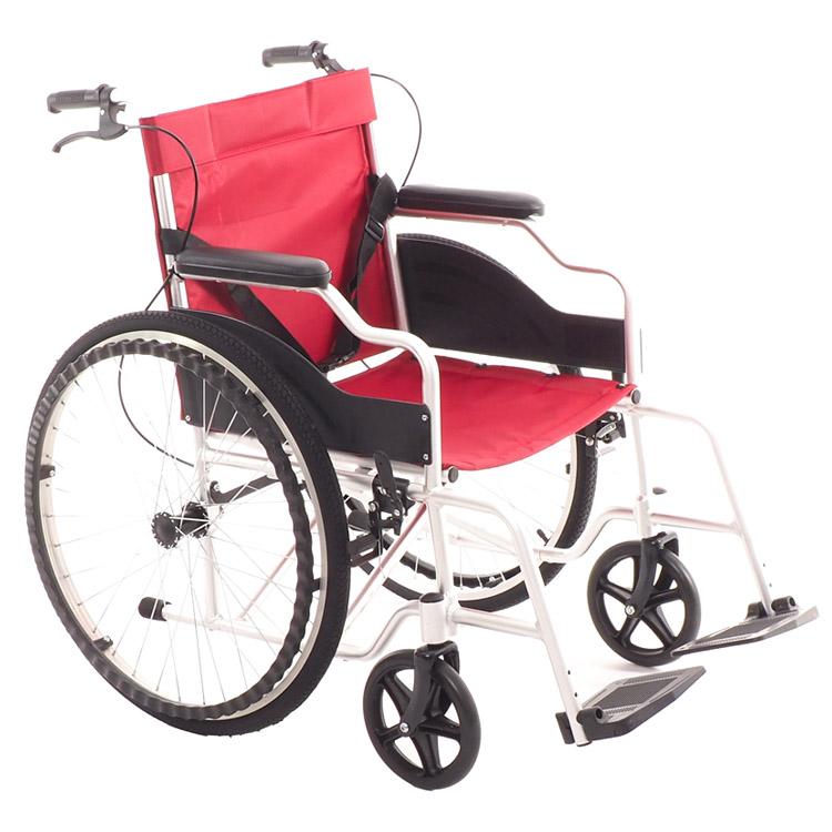 Кресло коляска с тормозами для сопровождающего