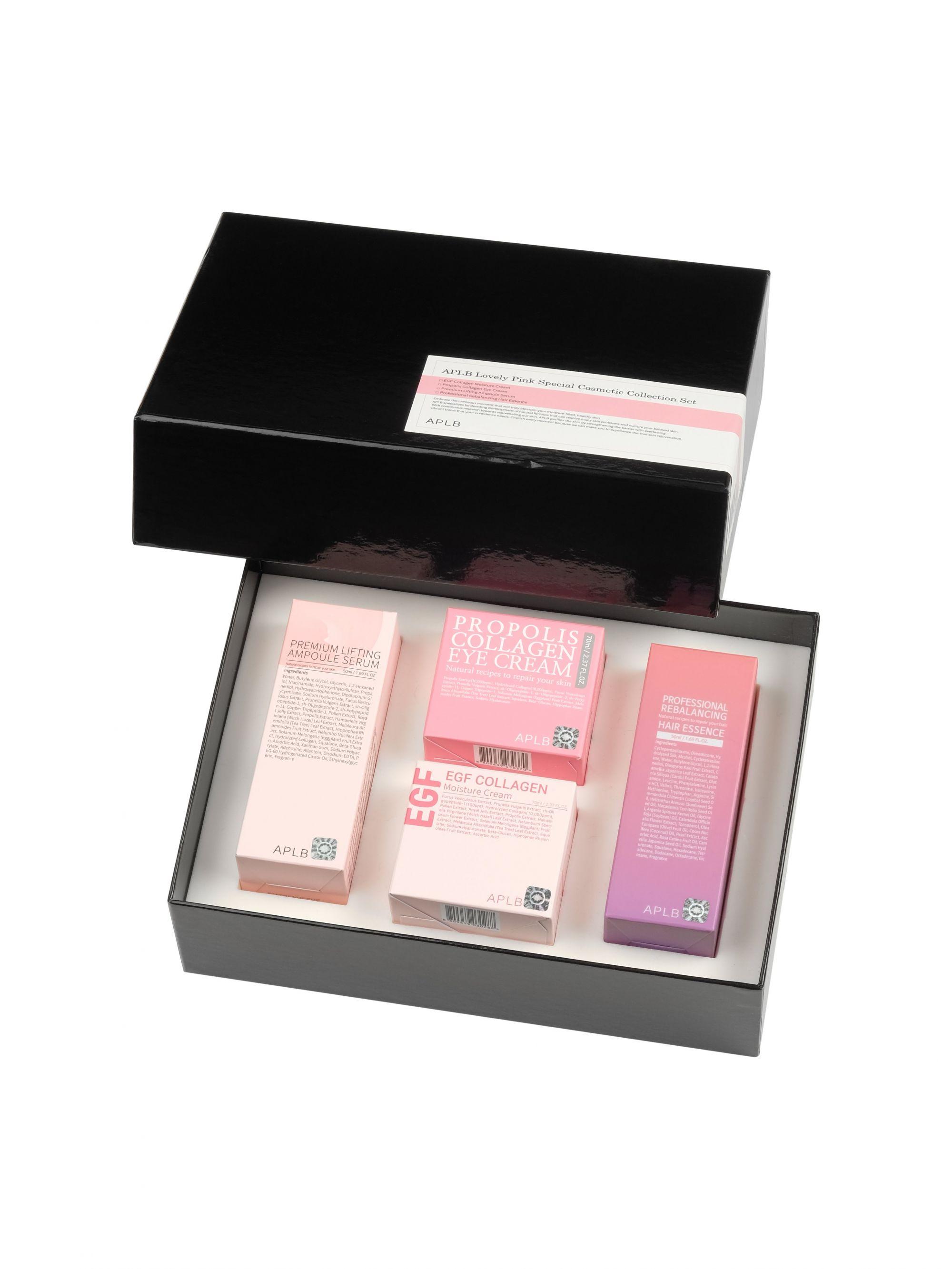 Купить Набор средств APLB, Прекрасный розовый (4шт), LOVELY PINK SPECIAL COSMETIC COLLECTION SET, APLB_96