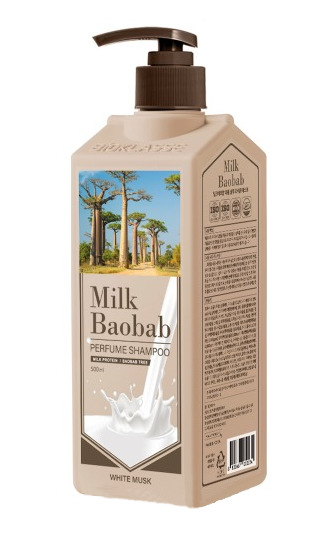 Купить Шампунь MilkBaobab Perfume Shampoo White Musk (500 мл), MILK BAOBAB