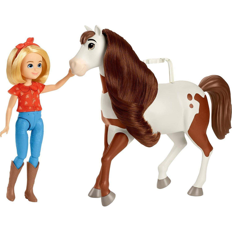 Купить Игровой Набор Mattel Spirit Абигейл и Бумеранг GXF23,