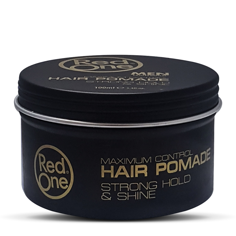 Купить Сияющая помада для волос RedOne сильной фиксации Hair Pomade STRONG HOLD & SHINE, 100 мл, RedOne Professional