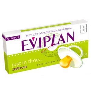 Тест Eviplan на овуляцию 5 шт.