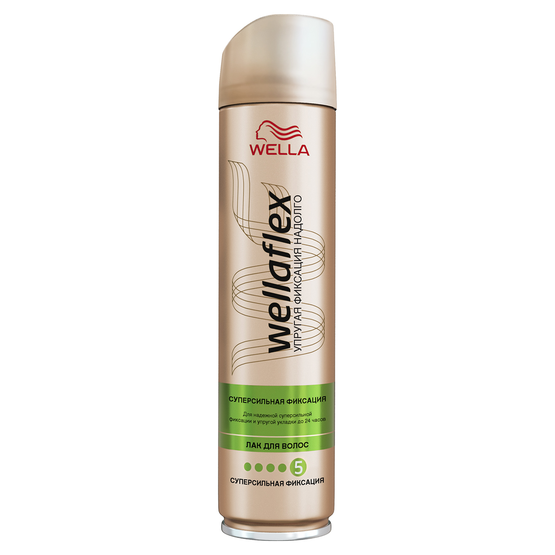 Лак для волос Wella Wellaflex Блеск