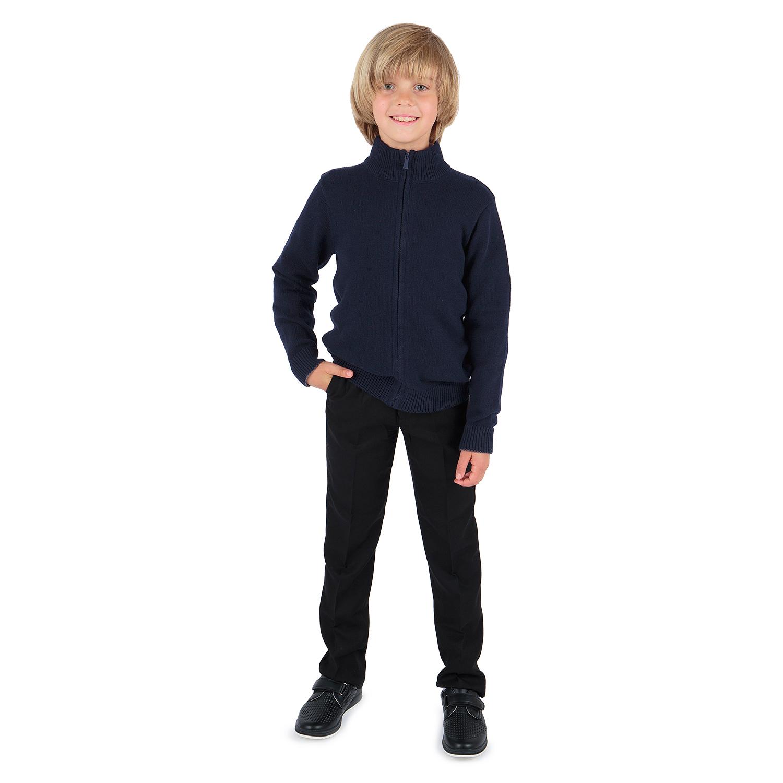 Кардиган Leader Kids School синий р.128 GL001328423