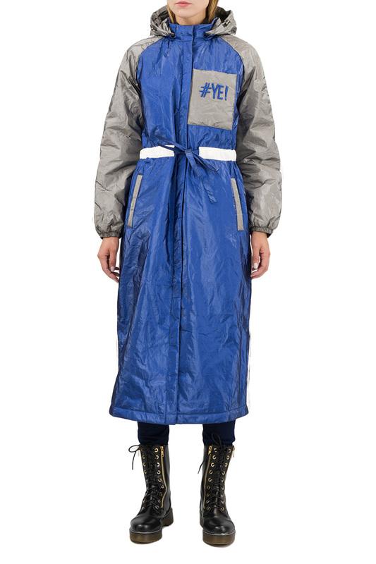 Утепленное пальто женское Pavel Yerokin SPBN-70 синее 44