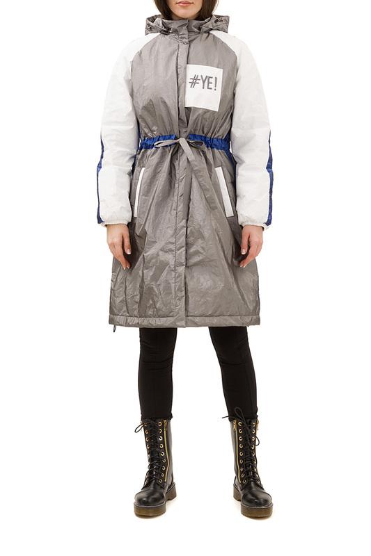 Утепленное пальто женское Pavel Yerokin SPBN-37 серое 40