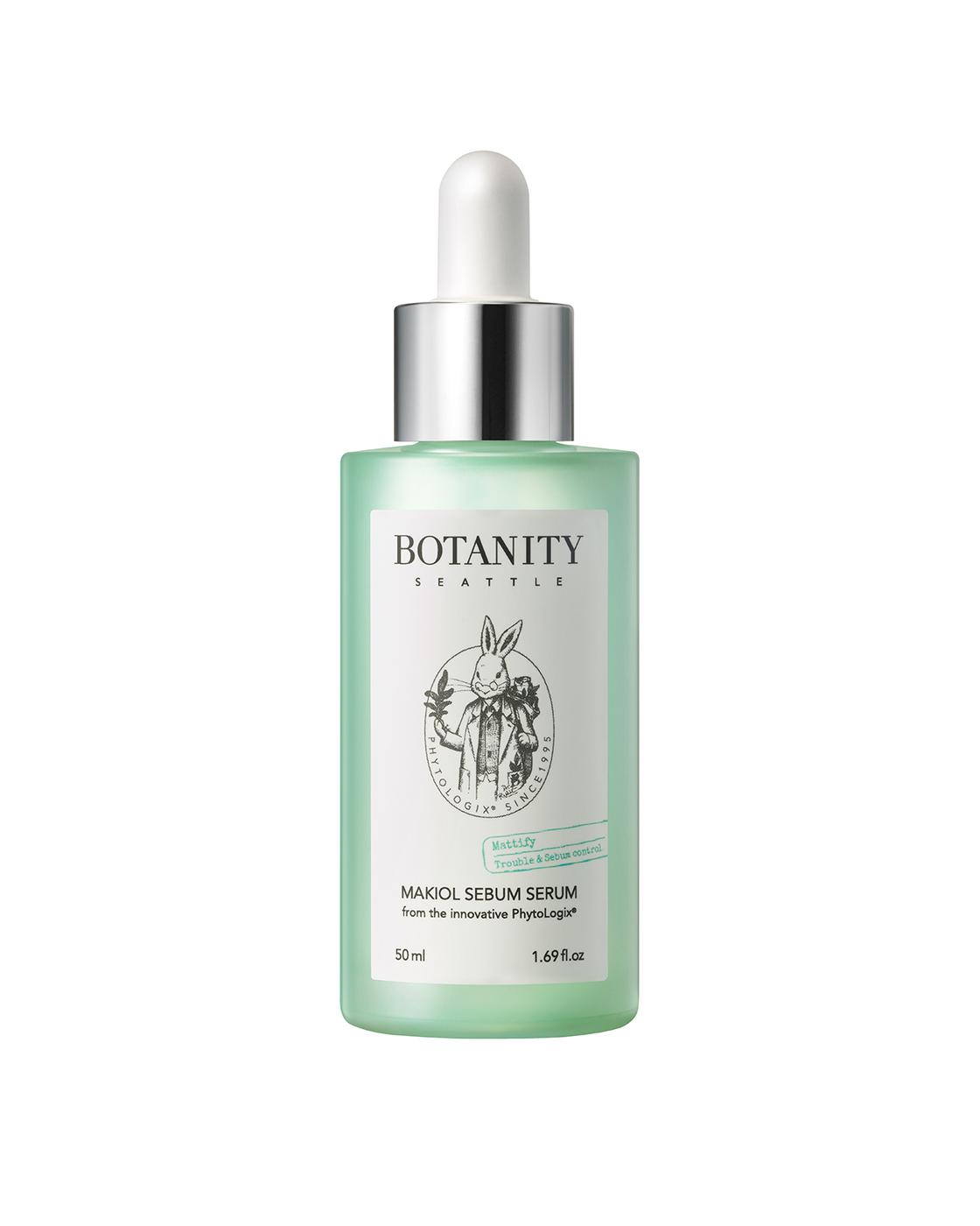 Купить Сыворотка для жирной кожи с макиолом Botanity Makiol Sebum Serum 50 мл, BOTANITY_07