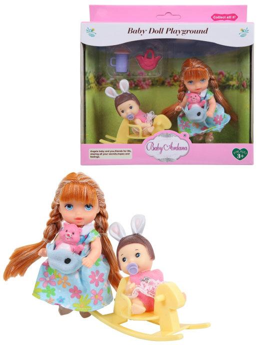 Купить Игровой набор Baby Ardana На прогулке (с лошадкой-качалкой) A606, JIANGSU HOLLY EVERLASTING INC.,