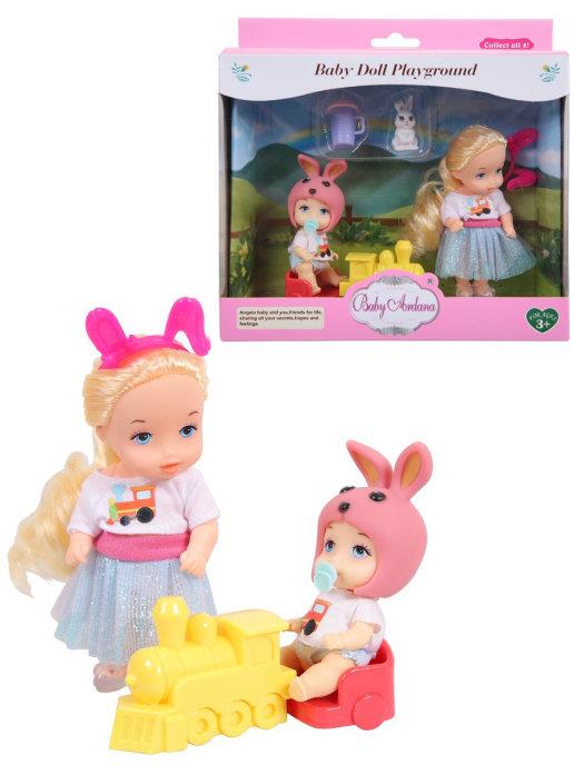 Купить Игровой набор Baby Ardana На прогулке (с игрушечным поездом) A610, JIANGSU HOLLY EVERLASTING INC.,