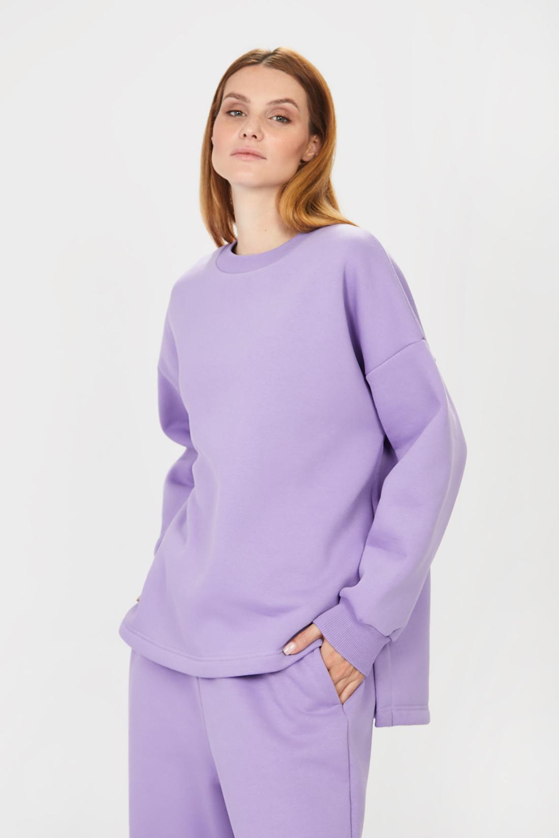 Свитшот женский Baon B111501 фиолетовый L