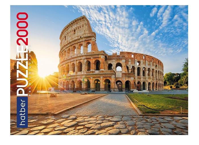 Купить Пазл Hatber Premium Италия 2000 элементов, 980х680мм 2000ПЗ1-25128,