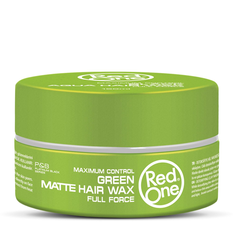 Купить Матовый воск RedOne для волос ультрасильной фиксации Matte Hair Wax GREEN, 150 мл, RedOne Professional