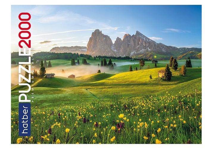 Пазл Hatber Premium Великолепный пейзаж 2000 элементов, 980х680мм 2000ПЗ1-25210,  - купить со скидкой