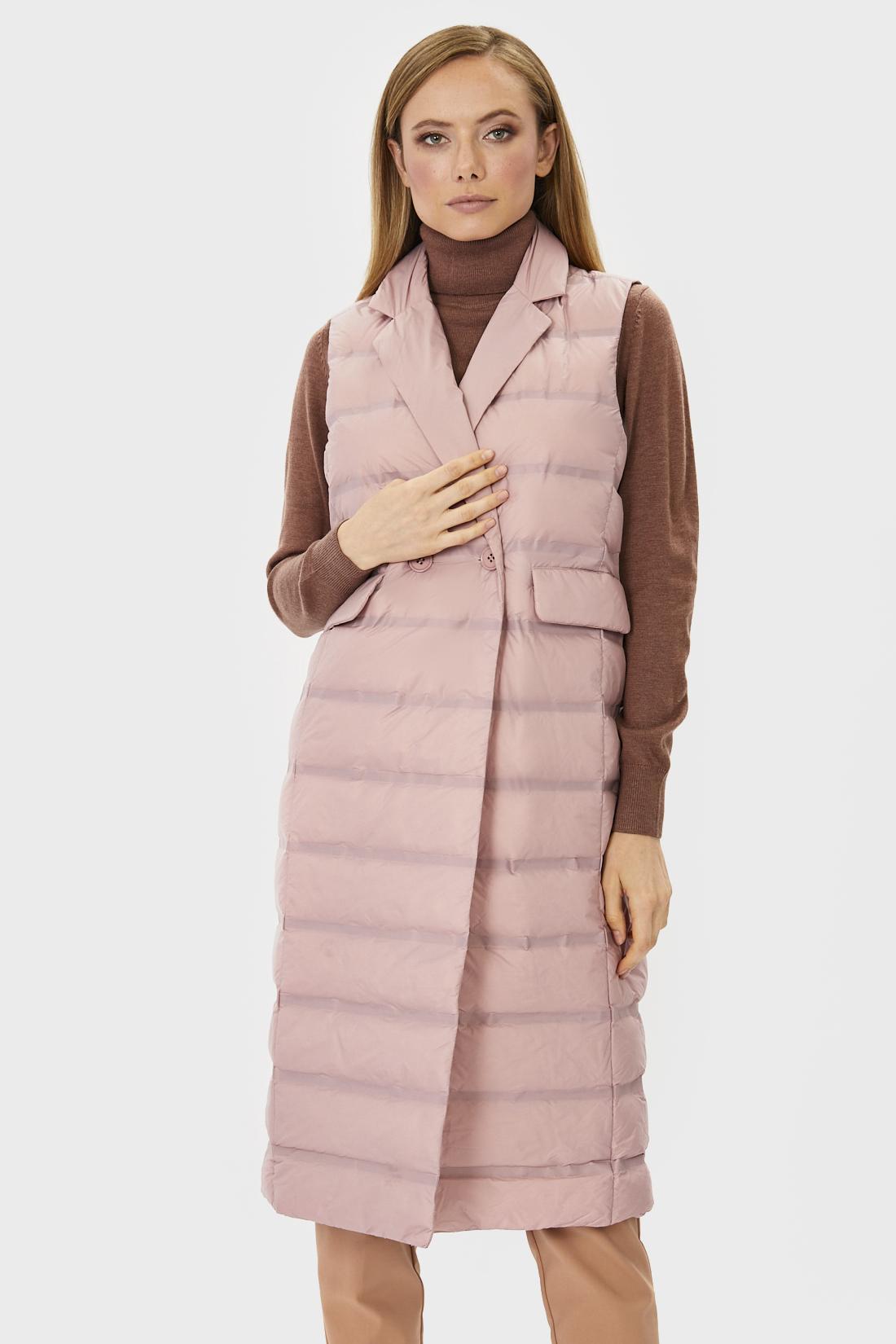 Утепленный жилет женский Baon B161701 розовый M