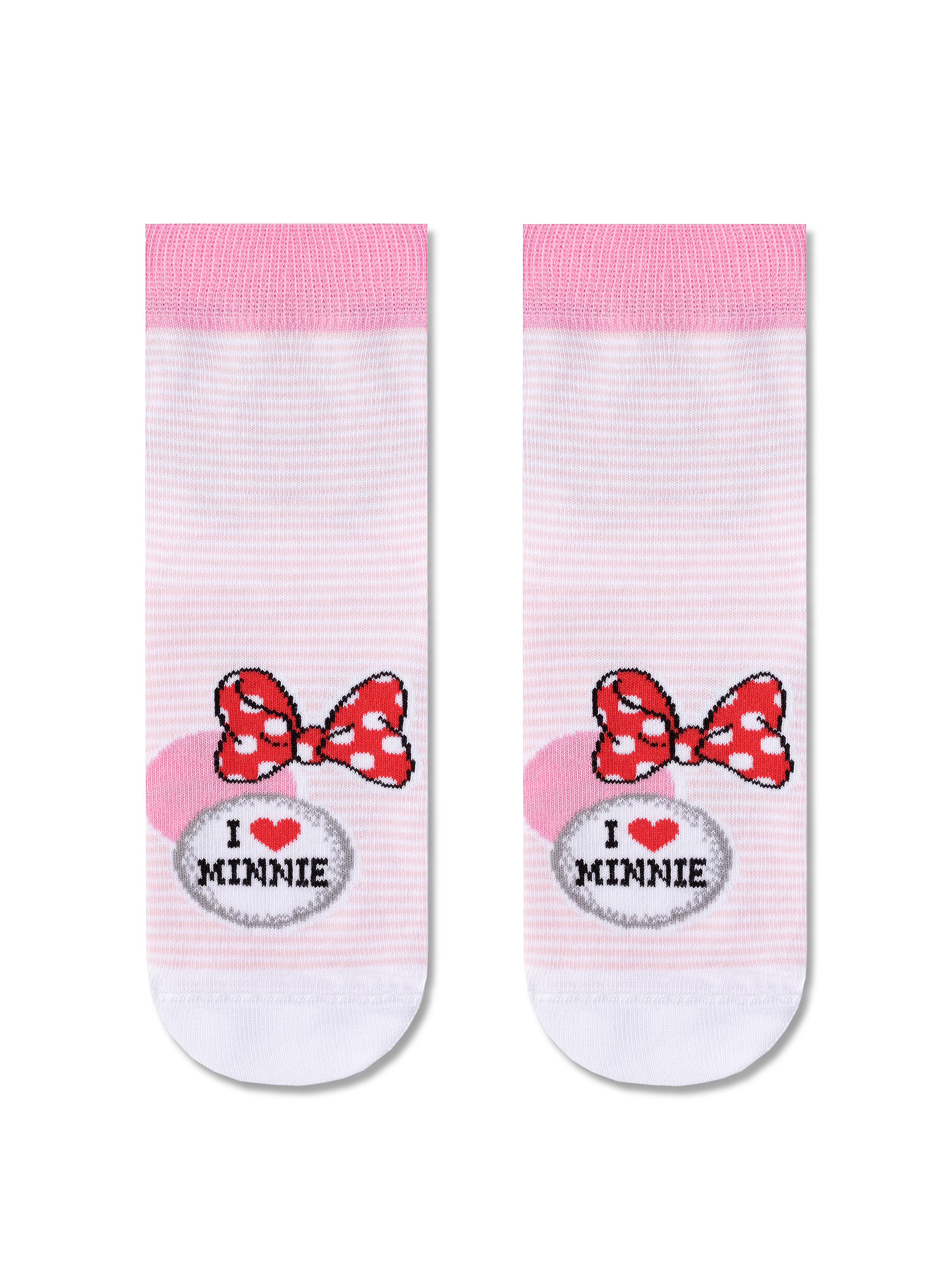 Купить Носки детские Conte Kids DISNEY 17С-126СПМ, р.22, 350 светло-розовый,