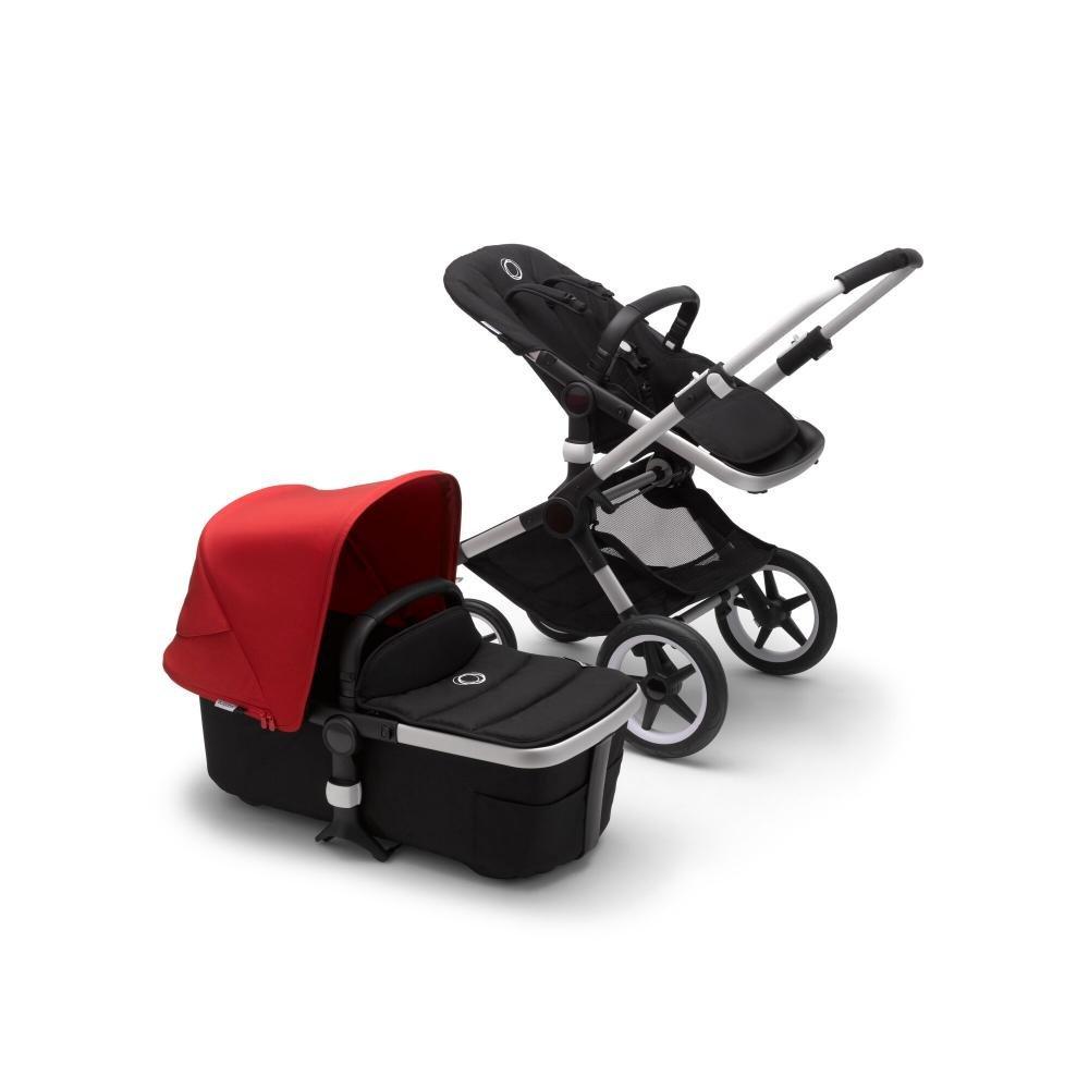 Купить Fox2 2 В 1, Bugaboo fox2 коляска 2 в 1 alu/ black/ red,