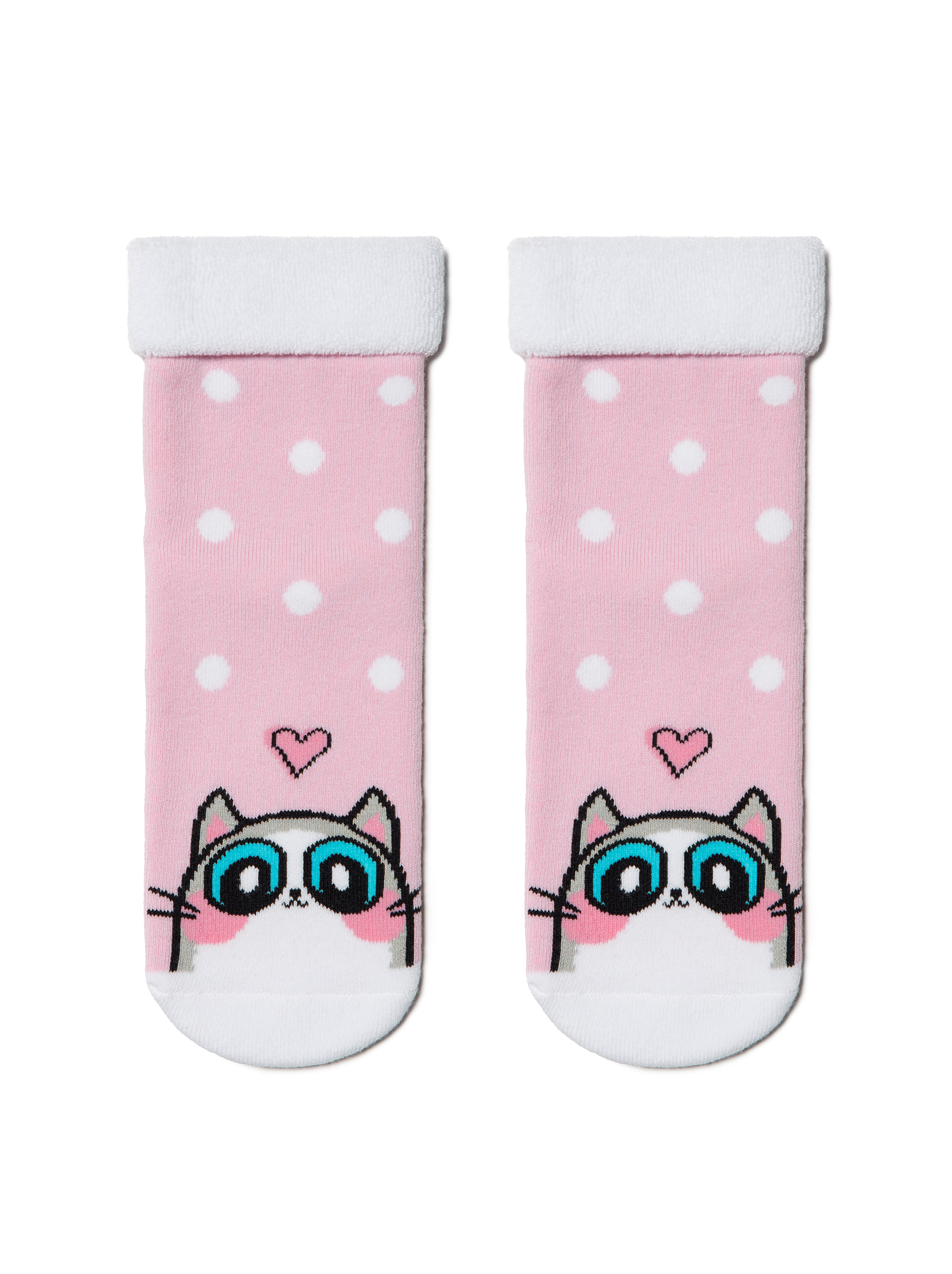 Купить Носки детские Conte Kids SOF-TIKI (с отворотом) 6С-19СП, р.20, 434 светло-розовый,