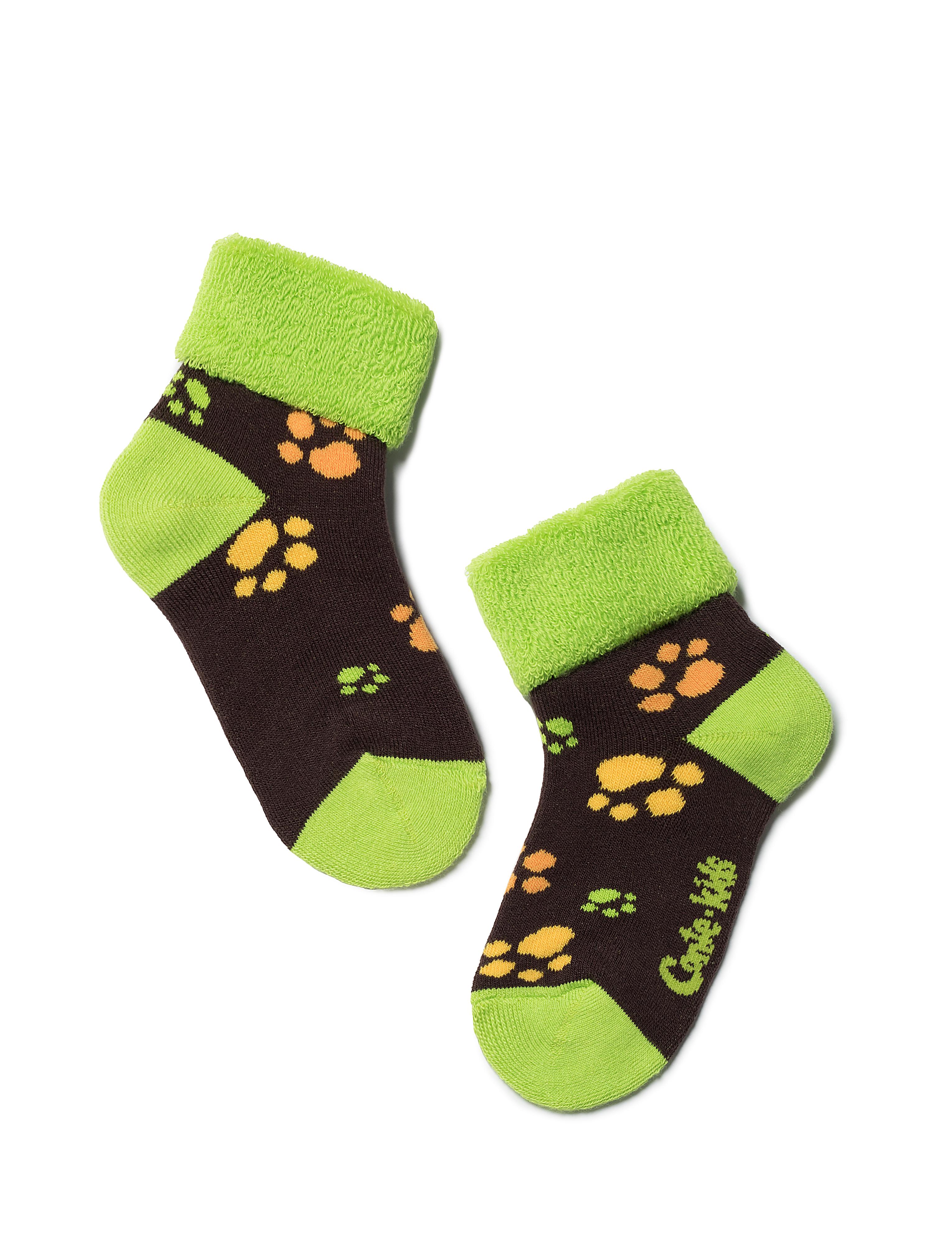 Купить Носки детские Conte Kids SOF-TIKI (с отворотом) 6С-19СП, р.14, 244 шоколадный,