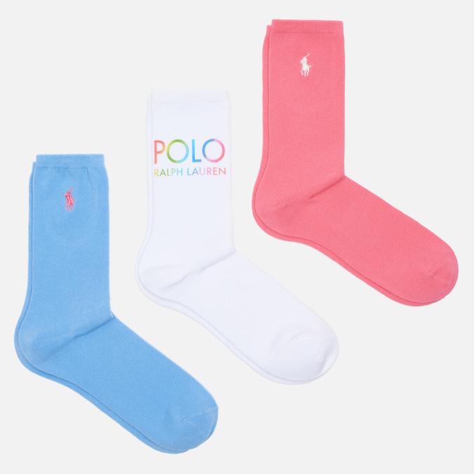Набор носков Polo Ralph Lauren 455-843975 разноцветных 35-40 RU