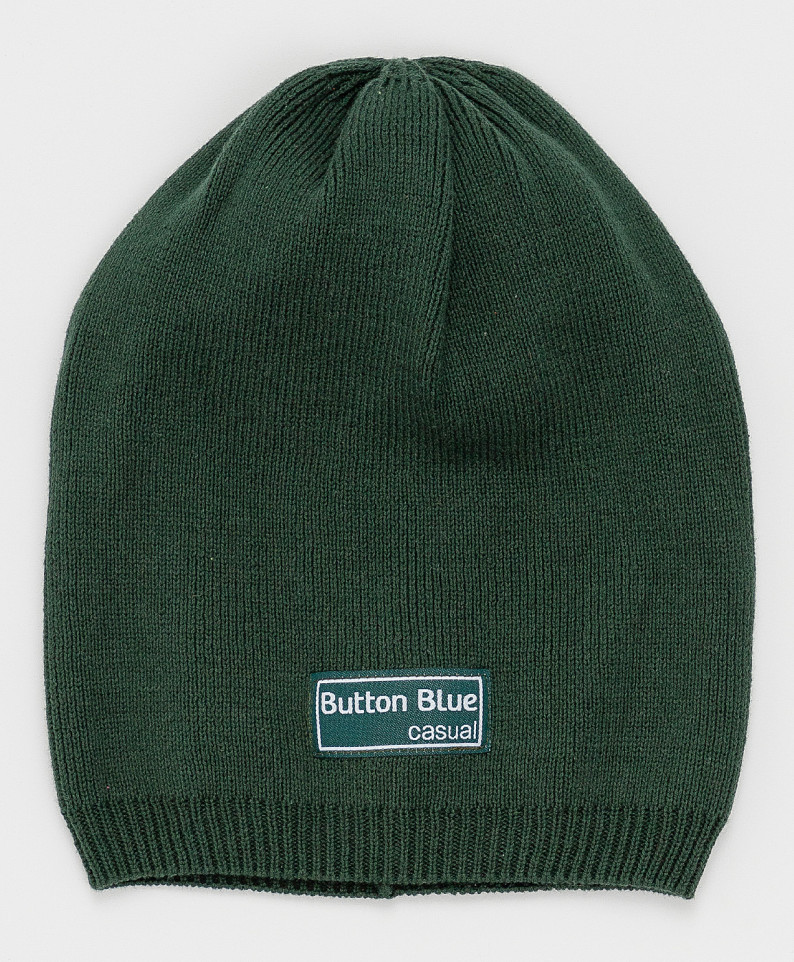 Купить 121BBGJX73030500, Шапка Button Blue для девочек цв. зеленый р-р. 56,