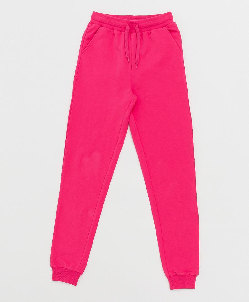 Купить 121BBGB56013600, Брюки Button Blue для девочек цв. розовый р-р. 128,