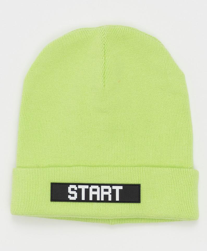 Купить 121BBBMX73035500, Шапка Button Blue для мальчиков цв. зеленый р-р. 50,