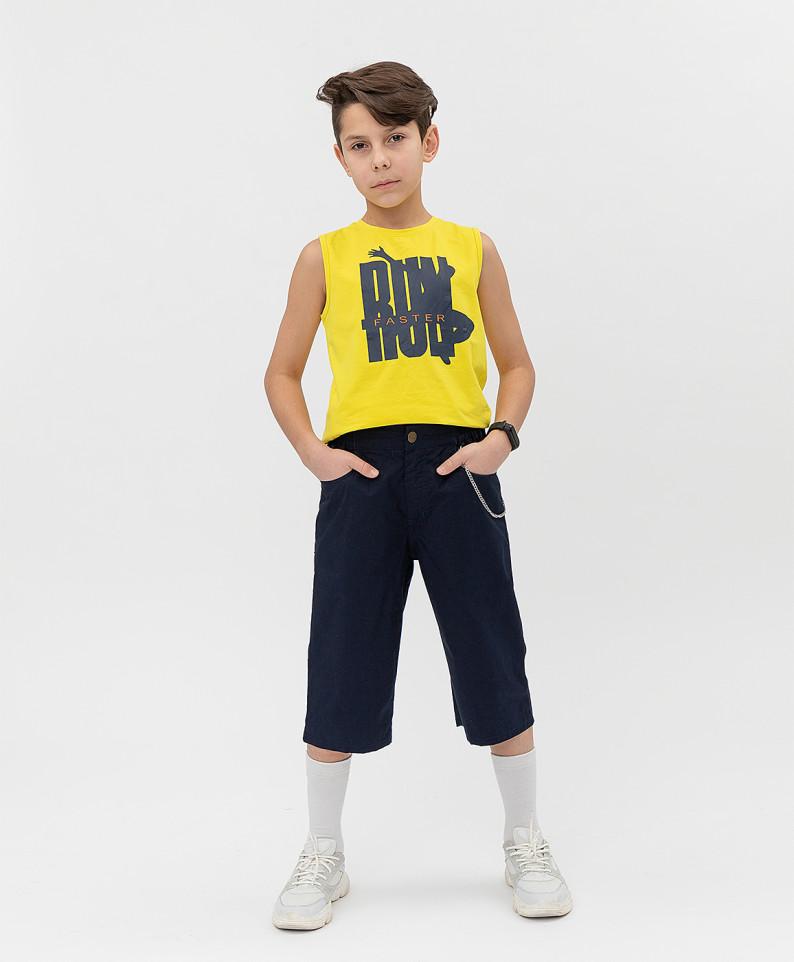 Купить 121BBBJC60031000, Шорты Button Blue для мальчиков цв. синий р-р. 152,