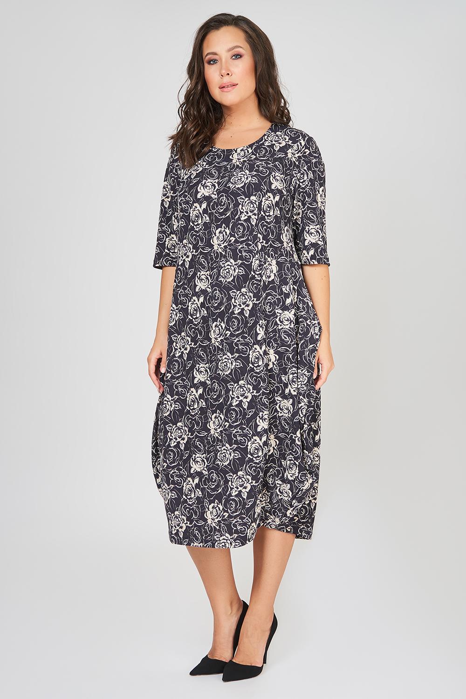 Платье женское OLSI 1905045 розовое 52 RU