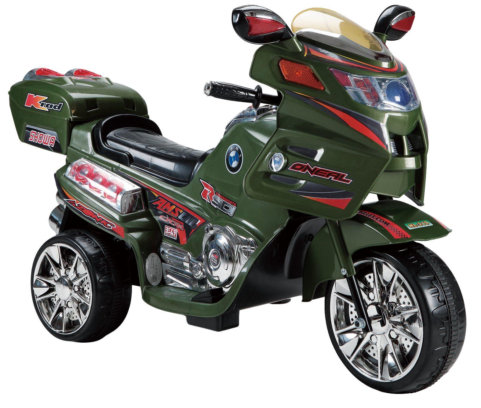 Купить Детский электромобиль Farfello (2020) HL219 (6V, колесо пластик) Камуфляж,