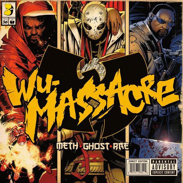 Meth. Ghost And Rae - Wu Massacre (1 CD)
