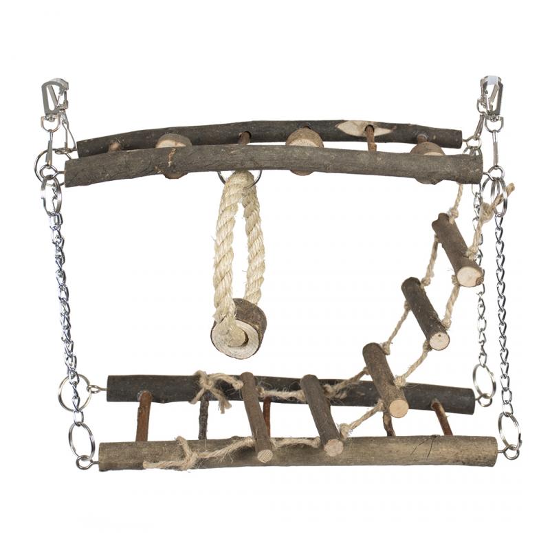 Игрушка для грызунов Duvo+ Подвесной мост,