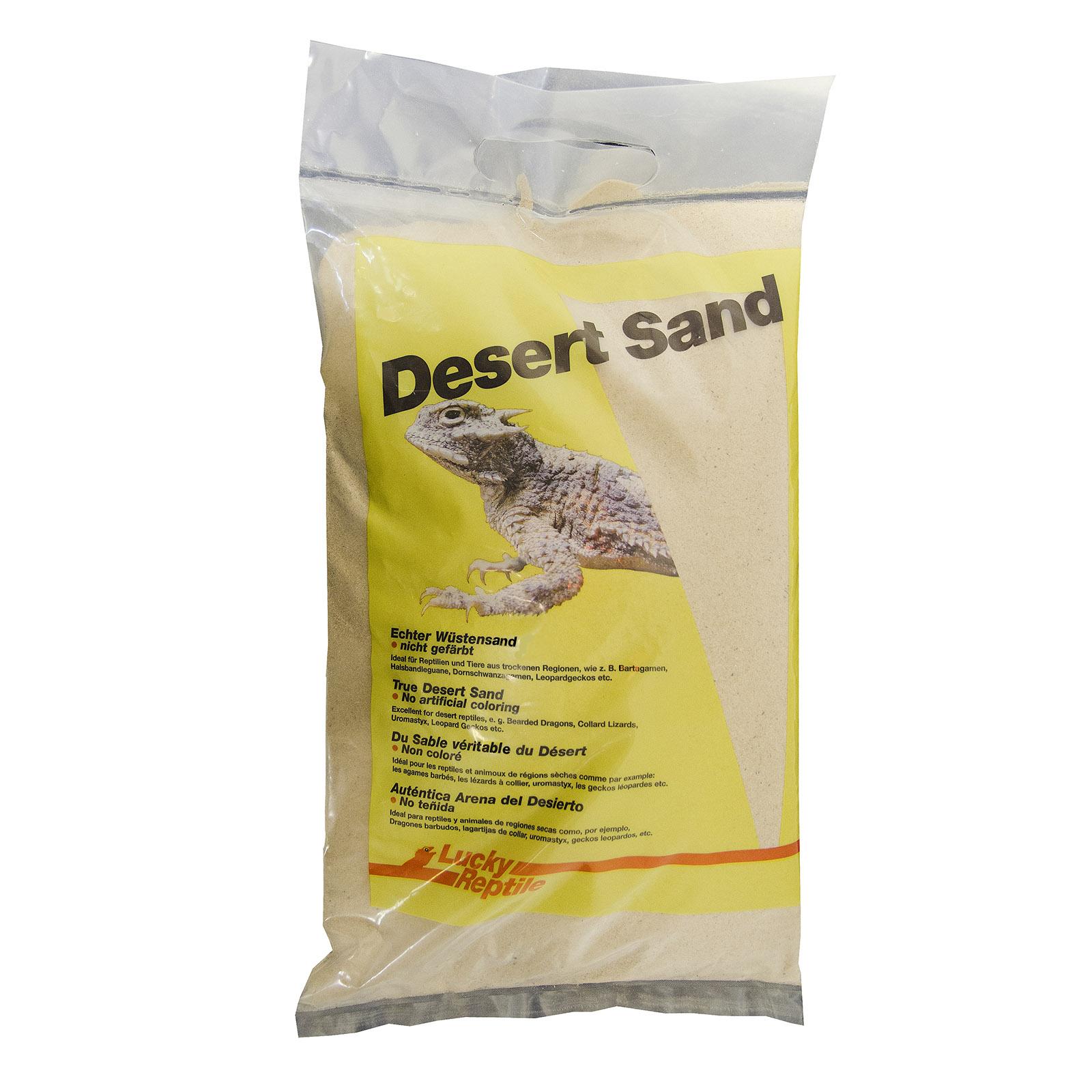 Натуральный песок для террариумов Lucky Reptile Sahara,