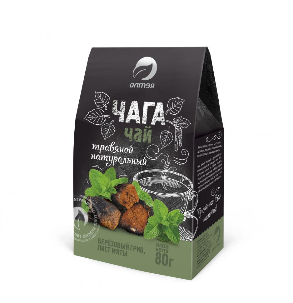 Чайный напиток «Фиточай Чага с мятой»