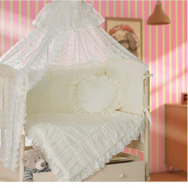 Купить Комплект в кроватку Мой Ангелок Любимый шампань, 7 предметов,