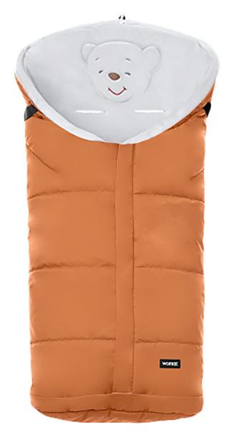 Купить Конверт-мешок для детской коляски Womar Holly №11 флисовый оранжевый,